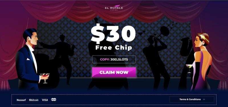 El Royale No Deposit Bonus Codes
