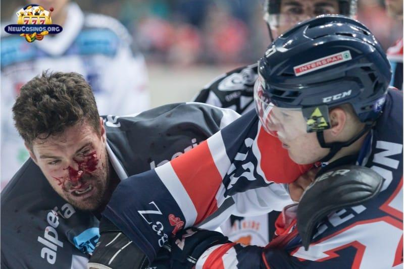 Top 6 Hockey Fights In History