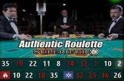 Live Roulette Superieur