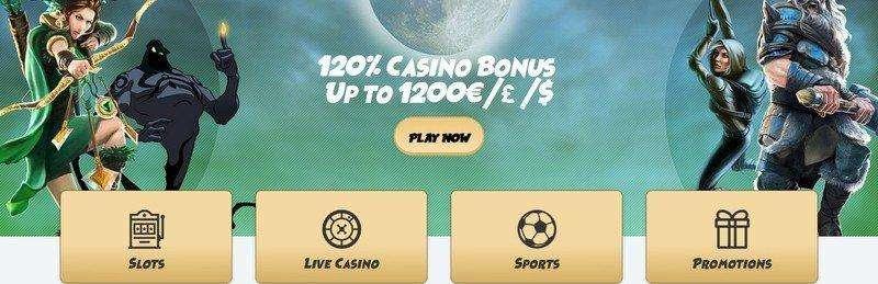120% First Deposit SvenBet Casino Bonus up to 1200€/£/$