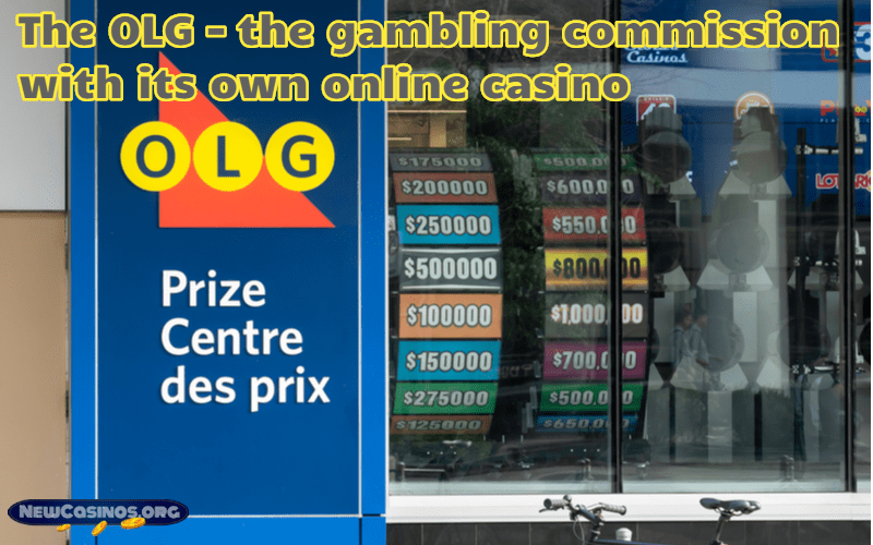 The OLG – the gambling commission with its own online casino