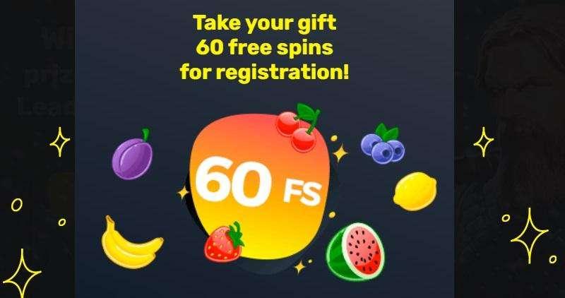 Slottyway 60 Free Spins Bonus Upon Registration