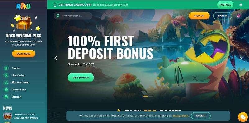 Roku Casino Website