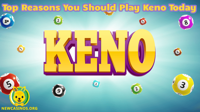 Top Reasons You Should Play Keno Today