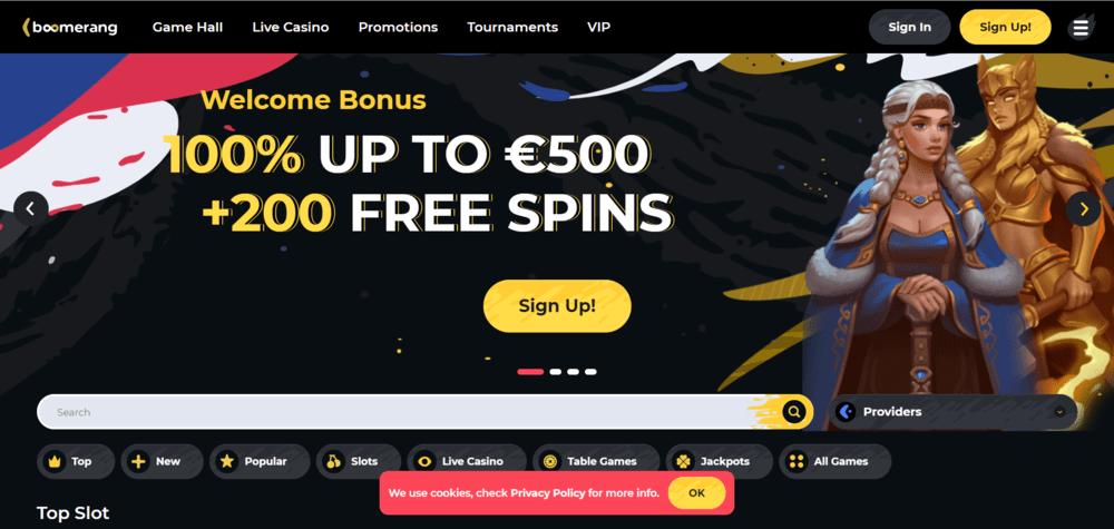 Boomerang Casinos