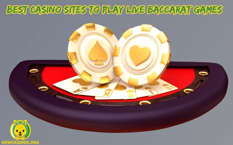 Los mejores sitios de casino para jugar juegos de baccarat en vivo ⋆ NewCasinos